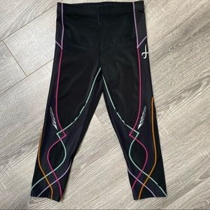 CW-X stability compression cropped legging tights